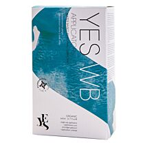 Yes Water Based Natural Personal Lubricant Applicators (6 x 5ml) 1