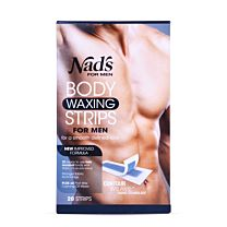 Nad's for Men Body Waxing Strips 1