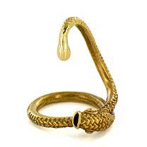 Snake Head Brass Penis Plug 1
