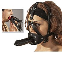 Zado Head Harness With Dildo