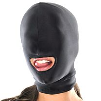 Fetish Fantasy Spandex Open Mouth Hood 1