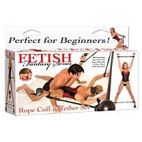 Fetish Fantasy Rope Cuff & Tether Set 1