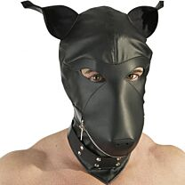 Leather Dog Hood 1