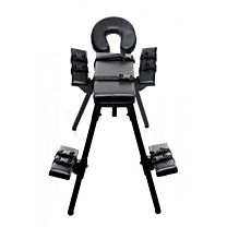 Master Series Obedience Extreme Sex Bench with Restraint Straps 1