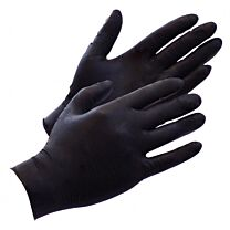 Black Ninja Latex Disposable Gloves 1