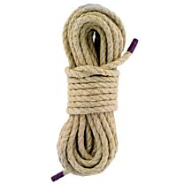 UberKinky Natural Hemp Bondage Rope 32ft 10m 1