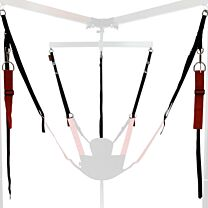RED Multi-Purpose Adjustable Sling Frame Strap Set 1