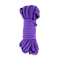 UberKinky Braided Cotton Bondage Rope Purple 32ft 10m 1