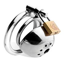 Master Series Solitary Extreme Confinement Chastity Cage 1