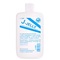 J-Lube Jelly Flask 237 ml. (8 oz.) 1