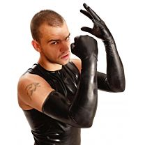 Shoulder Length Rubber Fisting Gloves  1