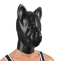 "MEO Black latex ""Pig"" head mask 1"