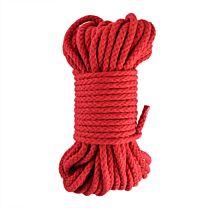 Braided Bondage Rope Red 20m 1