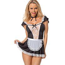 Naughty Dress Maid Costume 1