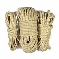 Uberkinky Hemp Bondage Rope Bundle 1