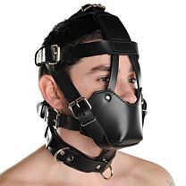 Strict Leather Padded Muzzle 1