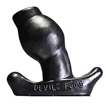 Oxballs Devils Plug Hollow Butt Plug 3.94 Inches