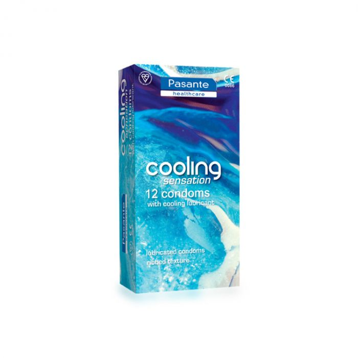 Pasante Cooling Sensation Condom (12 Pack)
