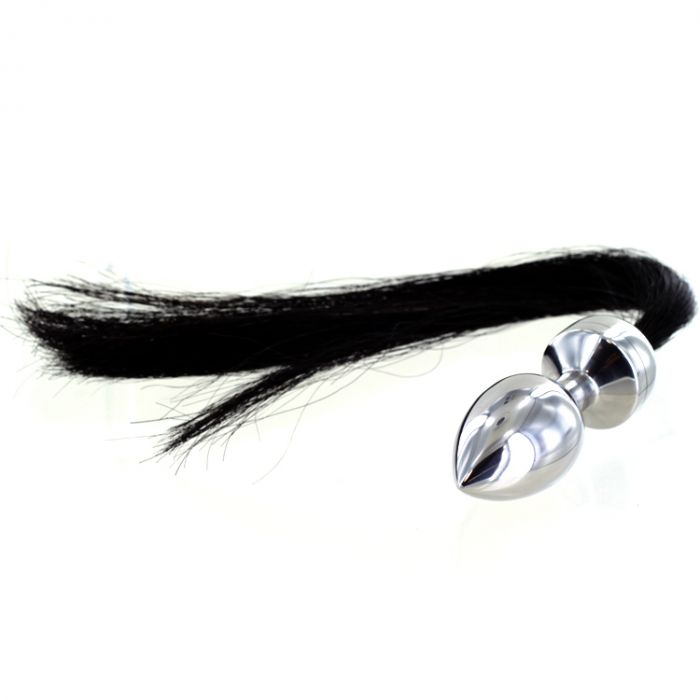 Horse Hair Pony Tail Butt Plug  Uberkinky-9403
