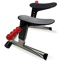RED Stainless Steel Rim Seat 1