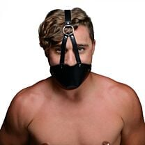 STRICT Mouth Harness with Ball Gag  1