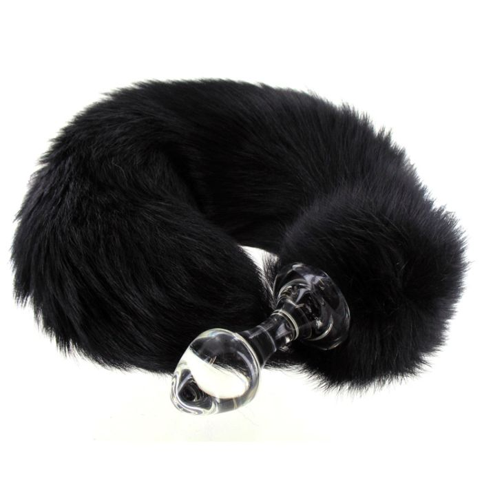 80964f1afc3 Crystal Delights Minx Tail Butt Plug 2.7 Inches 1