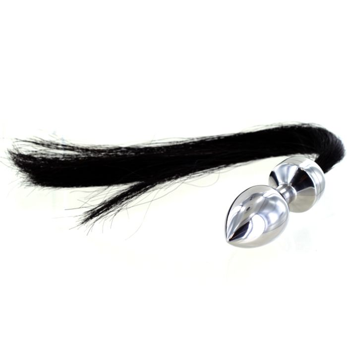 fff7f464405 Horse Hair Pony Tail Butt Plug 1