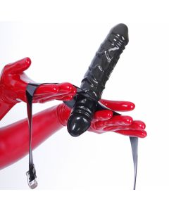 Strap On Solid Gag and Dildo 1