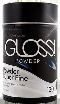 BeGloss Talcum Powder Latex Clothing Dressing Aid 120g