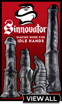 View Sinnovator Premium Silicone Dildos At UberKinky