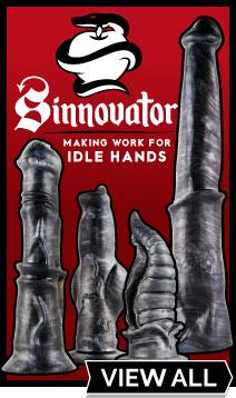 View Sinnovator Premium Silicone Dildos At UberKinky
