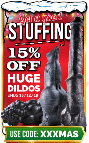 15% Off Huge Dildos