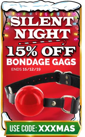 15% Off Bondage Gags