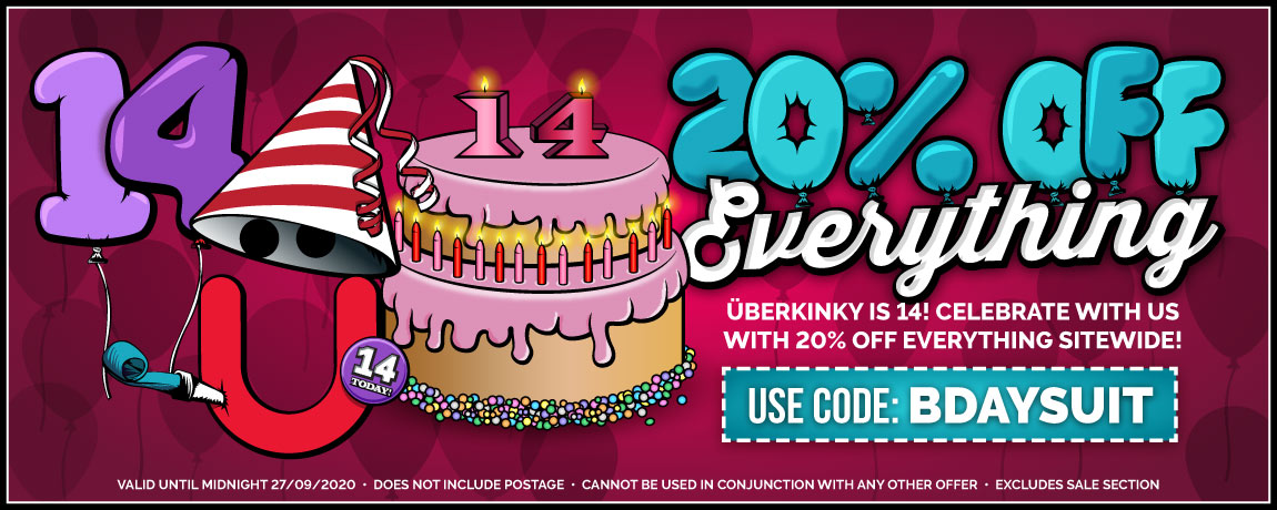 Get 20% Off Everything At UberKinky