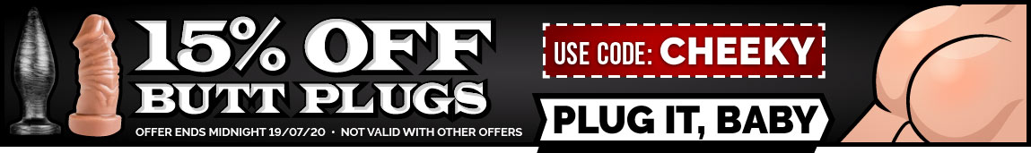 15% Off Anal Beads and Butt Plugs