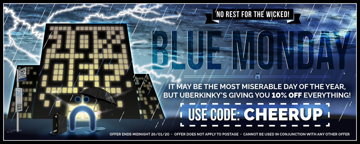Cheer Up This Blue Monday With 10% Off Everything