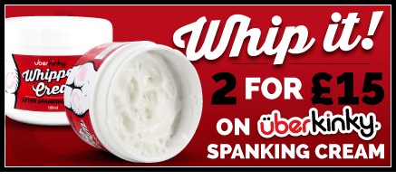 2 For £15 On UberKinky Whipped Cream Spanking Cream