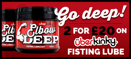 2 For £20 On UberKinky Elbow Deep Fisting Lube
