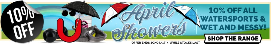 10% off all Watersports and WAM