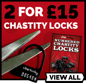 2 For £15 On UberKinky Numbered Chastity Locks