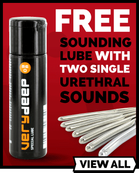 Free Meo VeryDeep When You Buy 2 Urethral Sounds