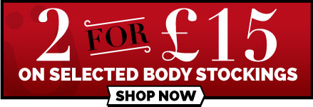 2 For £15 On Selected Bodystockings