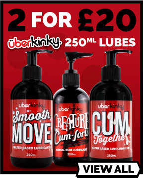 2 For £20 On UberKinky Lube 250ml