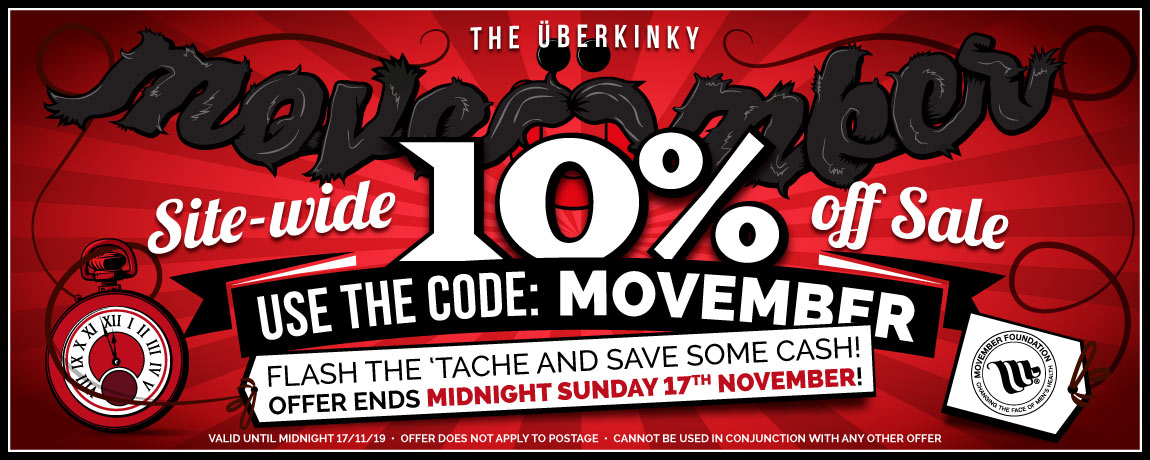 Get 10% Off Everything At UberKinky