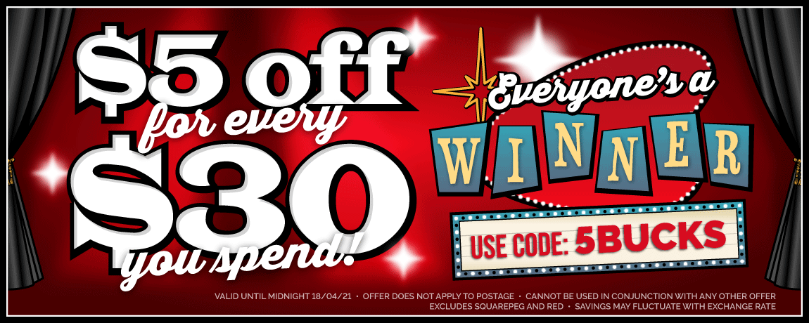 $5 off every $30