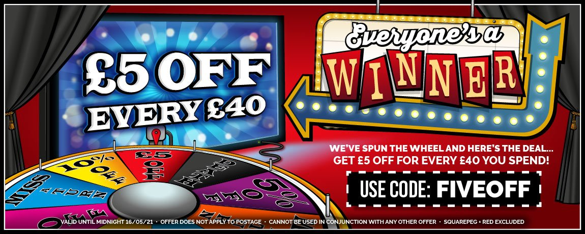 £5 Off Every £40