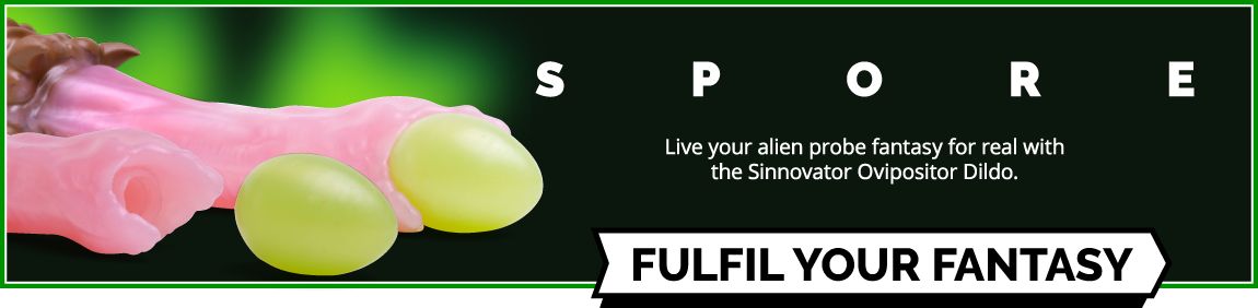 Sinnovator Spore Platinum Silicone Ovipositor Dildo
