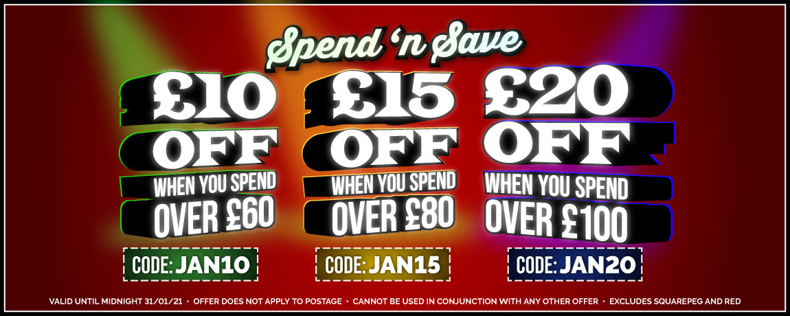 £10 Off £60, £15 Off £80, and £20 Off £100