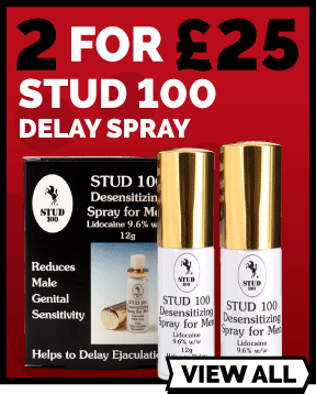 2 For £25 On Stud 100 Delay Spray 12g