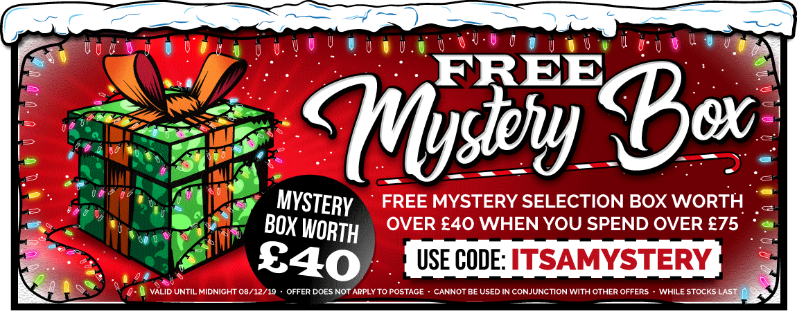 Free Mystery Selection Box With Orders Over £75